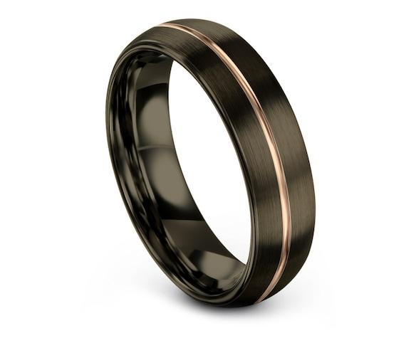 Tungsten Wedding Band Men, Tungsten Engagement Ring Women, Tungsten Ring Band, Domed Tungsten Ring Band, Comfort Wedding Band, Dainty Ring