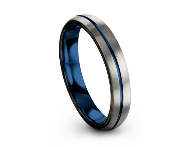 50% off Limited Time Sale, 4mm Unisex Wedding Band, Tungsten Wedding Ring, Mens & Women
