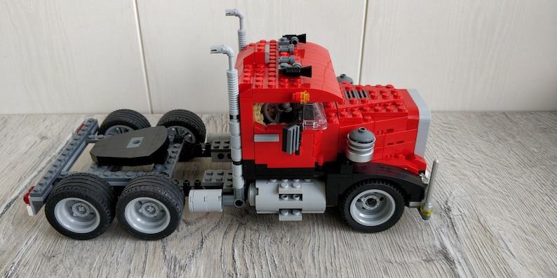 4955 LEGO Creator 3 in 1 set. Big Rig Lego set. Lego Truck. image 1