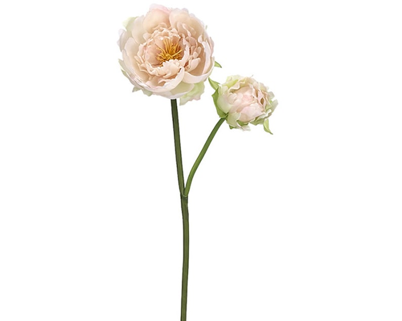 flowers artificial flowers blush pink wedding blush flowers blush pink decor peony blush table decor Blush pink peony pink peony