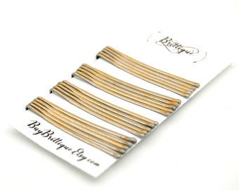 07-34-702 100 Pack Colored Bobby Pins with 8mm Glue Pad