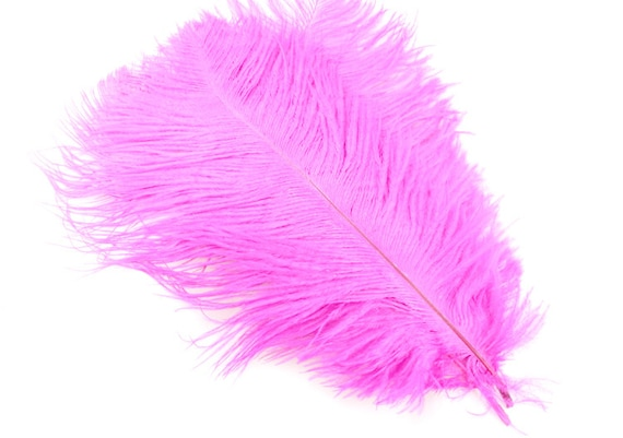 Inch pink ostrich feathers for table center pieces