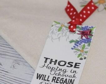 Set of 5 Bookmarks - Jw pioneer gifts  - Jw Pioneer School gifts - Jw pioneer school - Jw Pioneer gifts