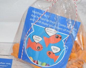 Set of 6 - Jw tag -  Jw Label - Jw Pioneer School gifts - Jw pioneer school - Jw Pioneer gifts - Jw kids meeting - Jw kids be bold