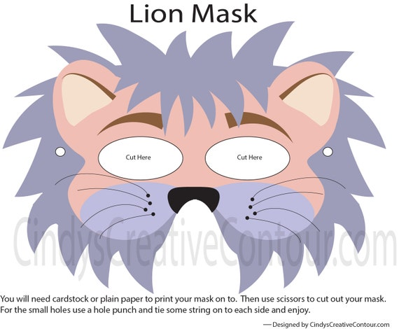 Dress up for kids Pretend Play dress up Pretend Play Store Downloadable Dog Mask Dress up print