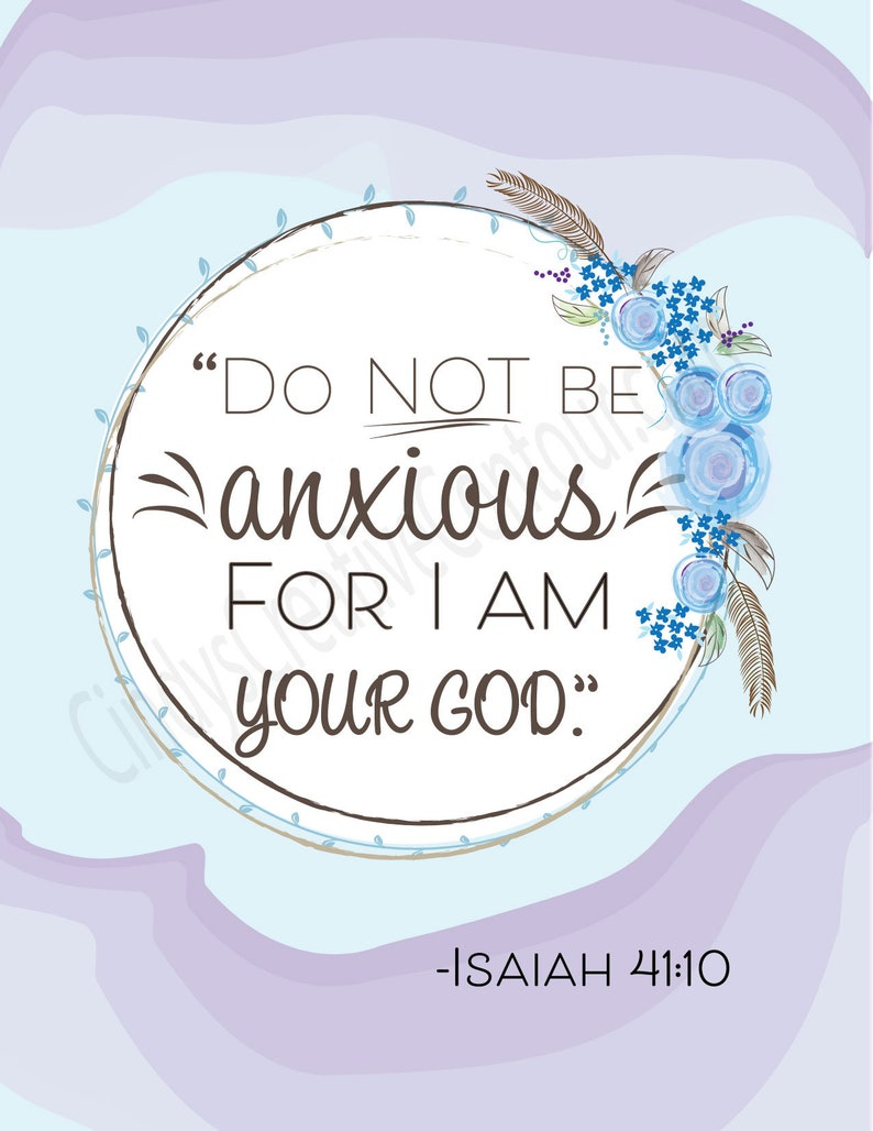 Do not be anxious Digital Download Do Not Be Anxious Jw image 0