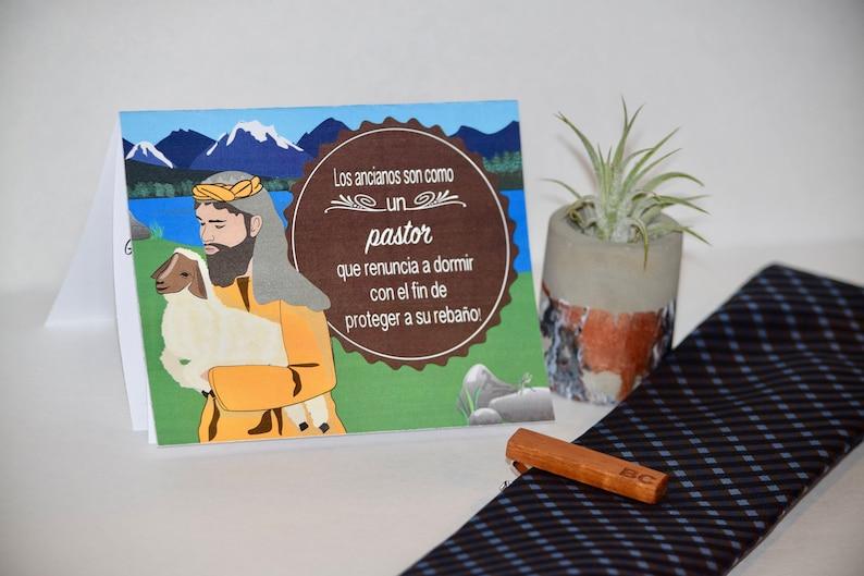 Jw Spanish Jw gifts for men Jw Elder card Jw Elder gift image 0