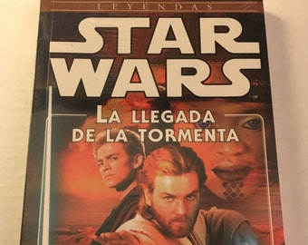 Star Wars: The Approaching Storm by Alan Dean Foster (Spanish edition paperback)