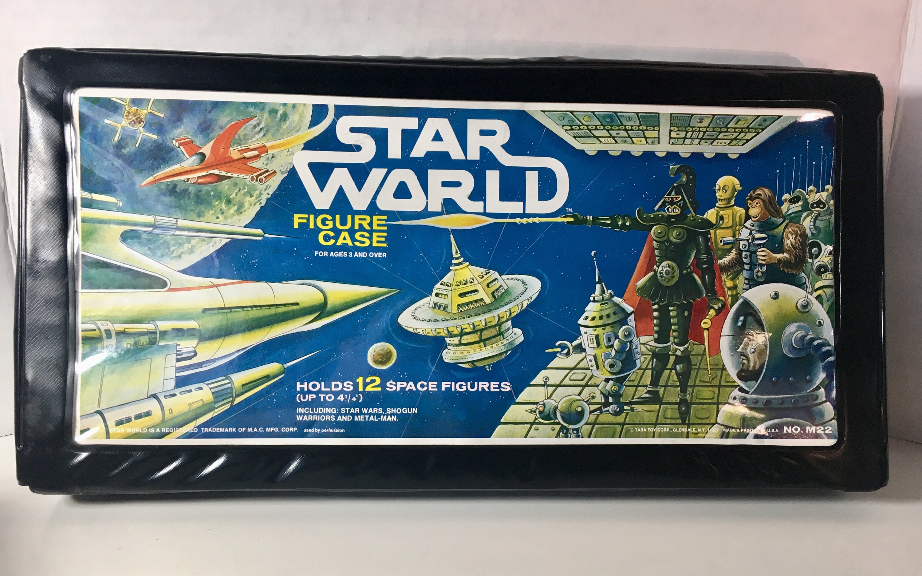 Vintage Star World Figure Case from Tara Toy Corp. | Etsy