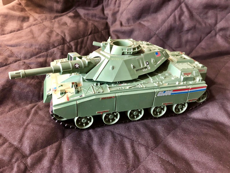1982 MOBAT Loose Complete and Works GIJOE Cobra STOCK Photo no driver ONE----