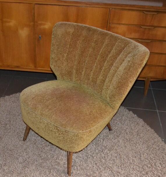 50er jahre vintage cocktail sessel etsy. Black Bedroom Furniture Sets. Home Design Ideas