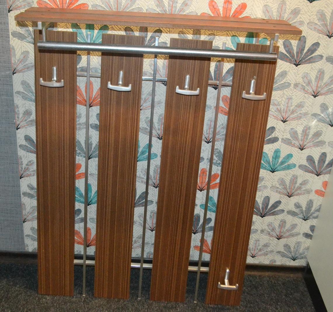 Vintage Wooden Wardrobe 70s