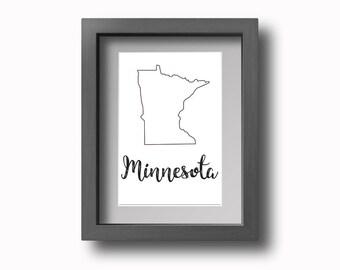 PRINTABLE Minnesota Wall Art!