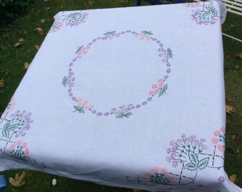 Hand-embroidered Tablecloth
