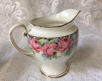 Royal Standard Rose of Sharon Milk Jug Creamer