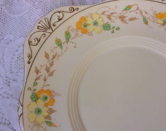 Royal Grafton Rosa Cake Plate