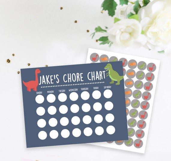 Kids Chore Chart Motivation Chart Confetti Chore Chart With Stickers Kids Chart Sticker Chart Kids Work Chart
