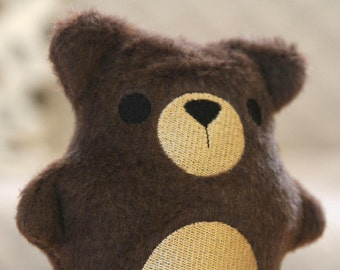 Eco Plush Bear Handmade and Personalized