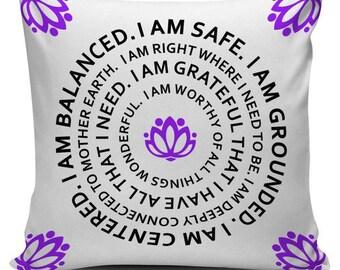 Lotus Flower Pillow Etsy
