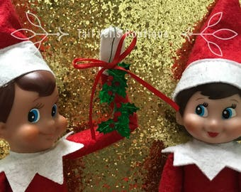 Elf on shelf, elf clothes and accessories ,elf mistletoe