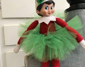 Elf on shelf tutu set, girl elf, elf  the shelf accessories ,elf on the shelf clothes