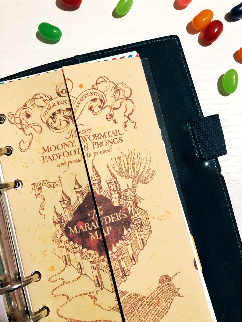 Karte Des Rumtreibers Pdf.Harry Potter Marauder Bujo A5 Letter Format Und Persönliche Planer Format Pdf Magische Tagebuch Monatliche Wöchentliche W02p Mo1p Dashboard Tasche