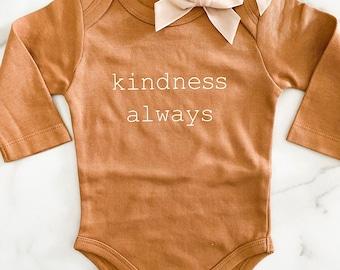 Kindness Always Bodysuit / Macie and Me
