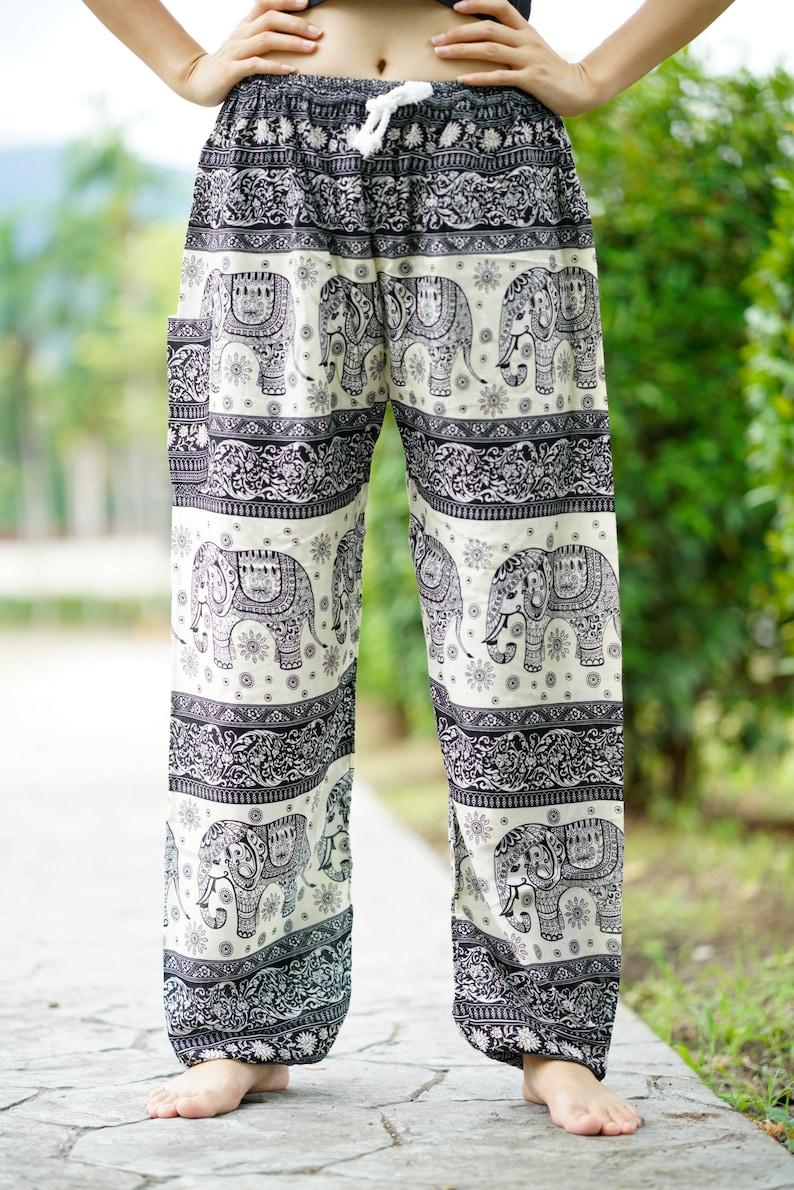 d2713c48c381e2 Hippie Pants Harem Pants Yoga Pants Boho Chic Bohemian | Etsy