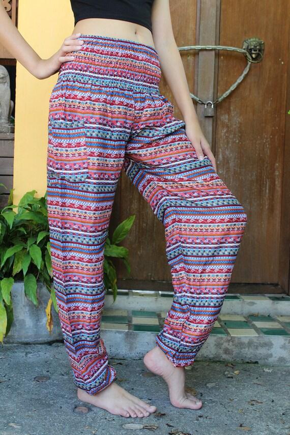 Stripe cargo pants | Wholesale trousers | Himalayan Handmades |Hippie Striped Pants