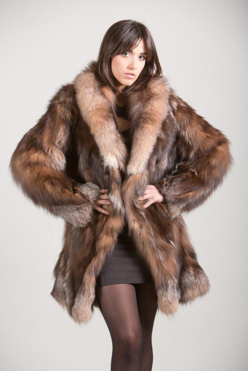 Antiquitäten & Kunst Aus Dem Ausland Importiert Raccoon Pelz Fuchs Mantel