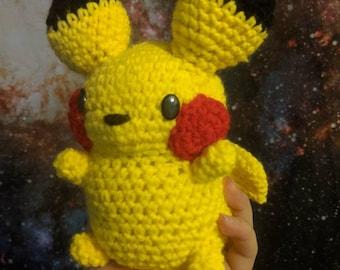 Handmade Pikachu doll