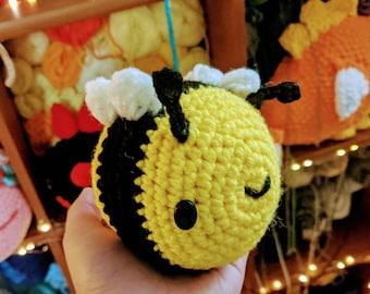 Crochet  Baby Bee Plushie Amigurumi