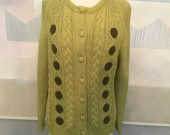 e111649f4b4ed1 Cable knit cardigan