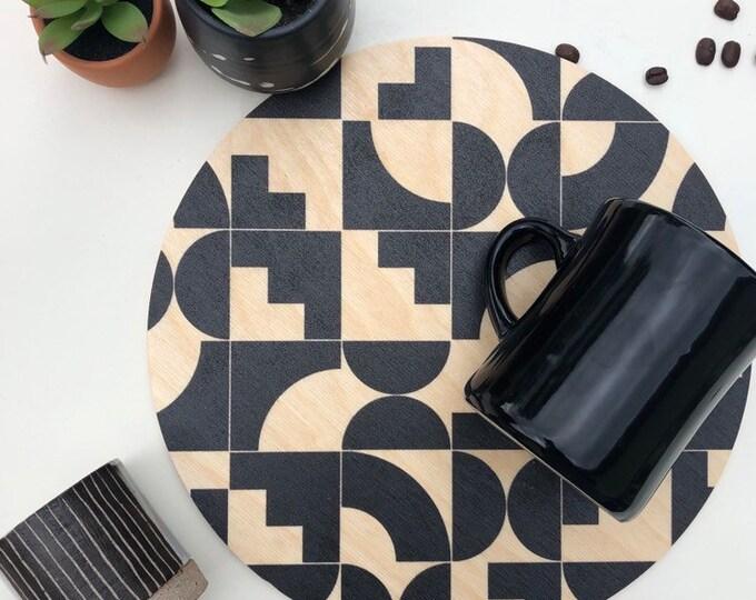 SHAPES Trivet Centerpiece  / Desk Coaster