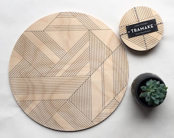 DECO trivet / giant coaster