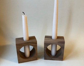 CUTOUT Modern Candlestick Holder