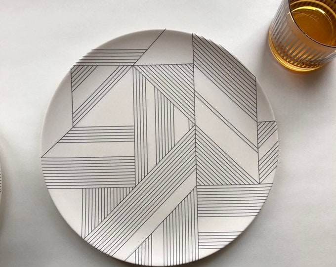 DECO Bamboo Dinner Plate