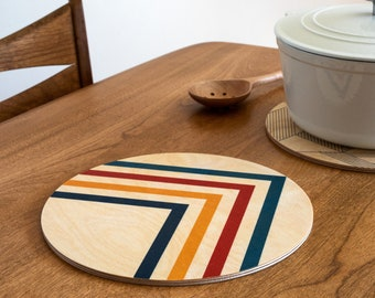 ANGLES trivet centerpiece / desk coaster