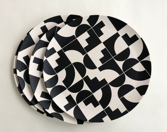 SHAPES Bamboo Dinner Plate