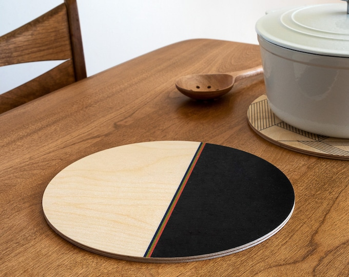 DIPPED trivet centerpiece / desk coaster