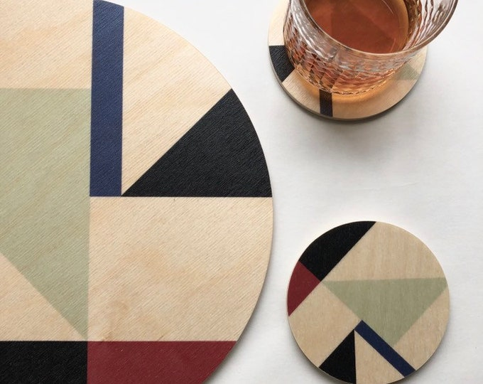 MOD Wood Trivet / Giant Coaster