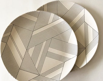 2nd Choice Bamboo Plate TERRAZZO