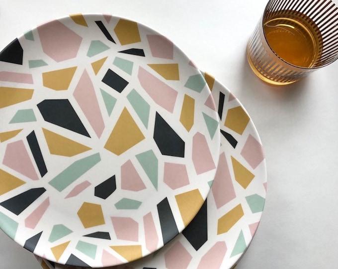 TERRAZZO Bamboo Dinner Plate