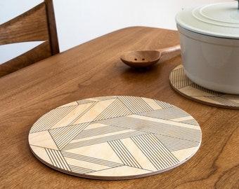 DECO trivet centerpiece / desk coaster