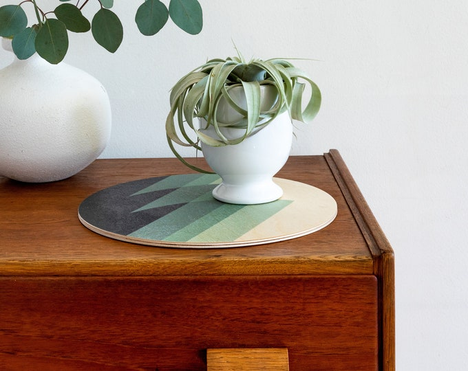 WAVES trivet centerpiece / desk coaster