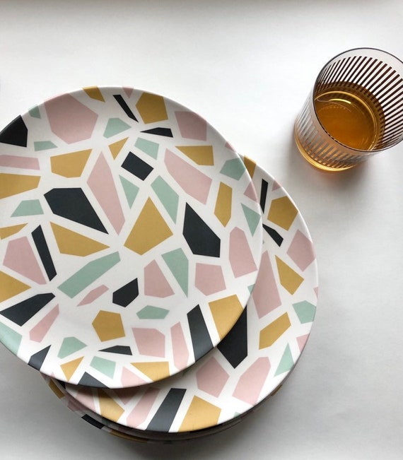 Dinner Plate Bamboo – Tramake's Terazzo pattern