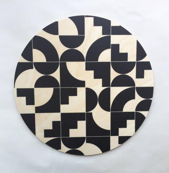 SHAPES Wood Trivet / Giant Coaster