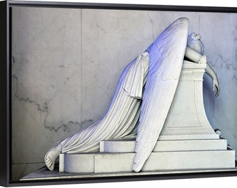 Angel of Grief New Orleans fine art on canvas