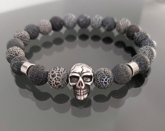 Bracelet Skull of Death crater