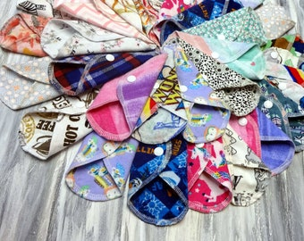 Pinkerville Period Menses Menstrual Pad Customized Cloth Pad Cotton Loch Ness Fantasy Pantyliners Panty Liner Nessie Pantiliner
